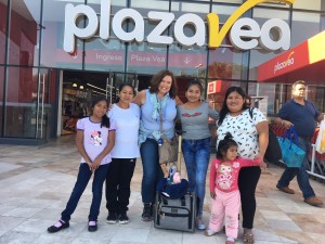 Diana's whole family traveled 2 1/2 hours to meet Maria in Piura. It was a life changing experience.