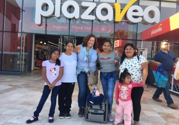 Meeting Diana through Compassion in Peru
